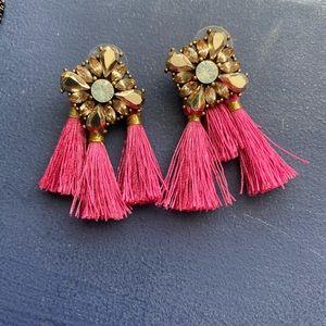 Francesca dangle fringe/tassel earrings